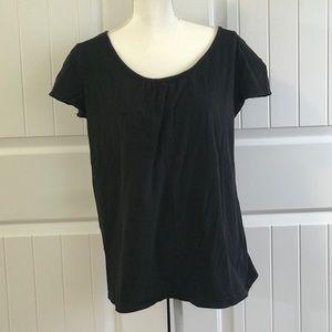 Motherhood Maternity Black T-shirt Size XL